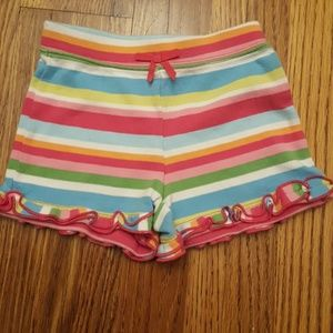 Gymboree Striped Ruffle Shorts